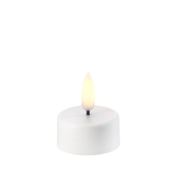 LED Teelicht 3,8 x 2 cm Nordic White