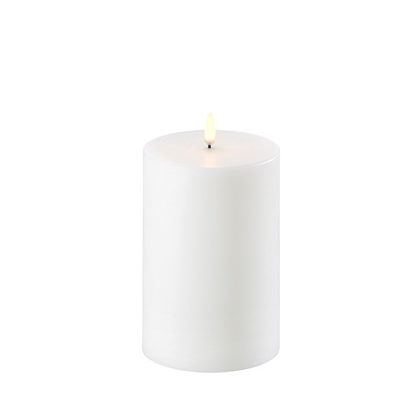 LED Kerze 10,1 x 15 cm Nordic White