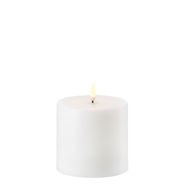 LED Kerze 10,1 x 10 cm Nordic White